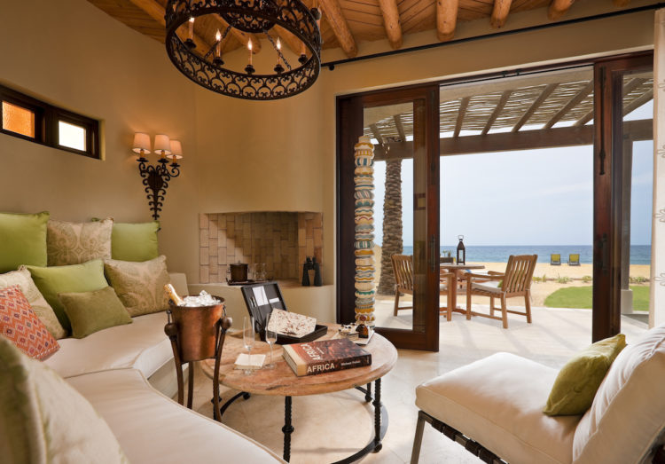 Living Room of Beach Casita