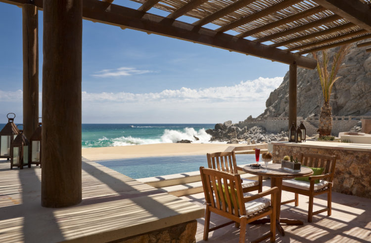 Patio of Pedregal Suite