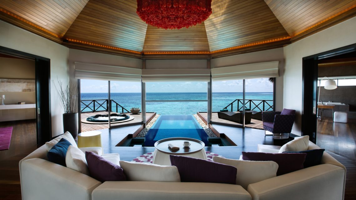 Huvafen Fushi – Two-bedroom Ocean Pavilion with private pool 5