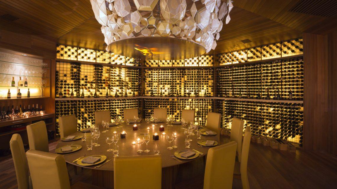 Huvafen Fushi – Vinum 1 (underground wine cellar)